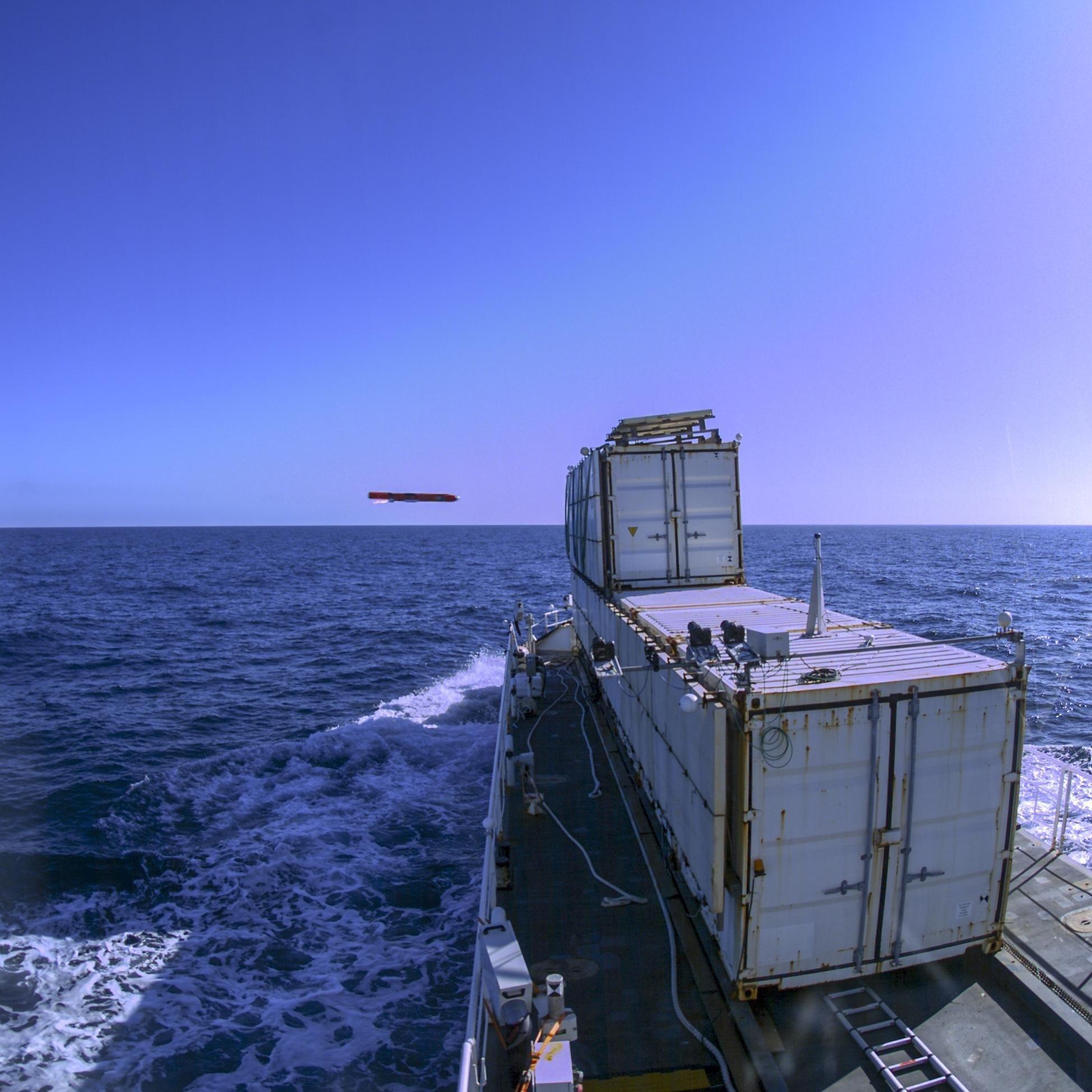 Sea Venom/ANL firing © DGAEMT - Armées